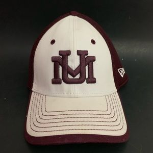 "New Era Montana Griz Medium- Large White ""UM"" Hat"